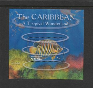 FISH - DOMINICA #2279  MNH
