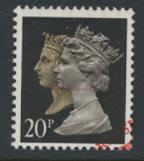 SG 1469 Sc# MH193 Used with first day cancel - Penny Black anniv 20p