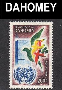 Dahomey Scott C16 F to VF mint OG NH.