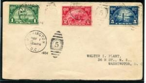 UNITED STATES 614-616 FIRST DAY COVER (FDC)