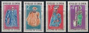 Senegal 261-64 MH bin $.75