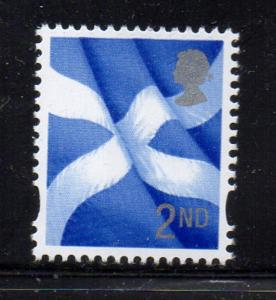 Great Britain Scotland Sc 20 2003  2nd Flag stamp mint NH