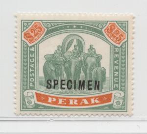 Malaya Perak - 1895 - SG 80s - MNH