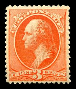 momen: US Stamps #214 Mint OG NH PSE Graded VF/XF 85