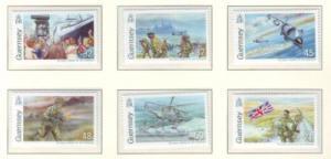 Guernsey Sc 926-1 2007 Falklands War stamp set mint NH