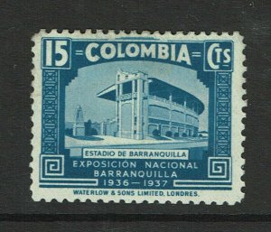 Colombia SC# 450 Mint Hinged / Hinge Rem & Tiny Mount Rem - S10270