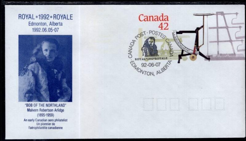 Canada Unitrade U130 Arlidge Event Cancel Postal Envelope VF