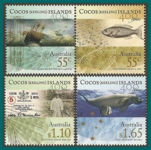 Cocos 2009 First Sighting, MNH #351-353,SG438-SG441