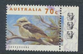 Australia SG 1366  Used  - Wildlife Kookaburra