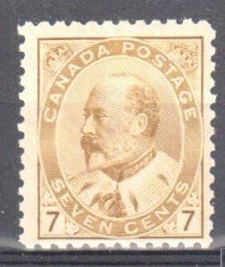Canada #92 Mint F-VF OG NH C$1200.00