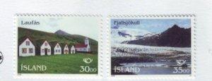 Iceland Sc 799-800 1995 Nordic stamp set mint NH