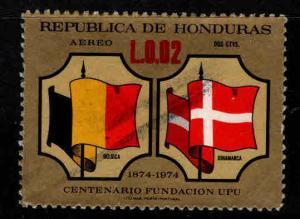 Honduras  Scott 563 Used flag stamp