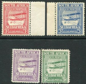 SOUTH AFRICA-1925 Air Set Sg 26-29 MOUNTED MINT V35325