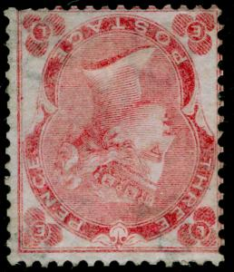 SG76Wi, 3d bright carmine-rose, M MINT. UNLISTED. WMK INV. EL