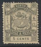 North Borneo  SG 41 no gum no cancel    please see scans & details
