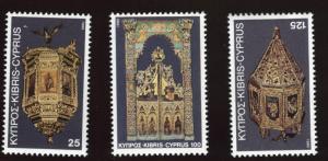 Cyprus MNH 557-9 Christmas 1980