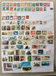 German 100+ stamps - Lot 15