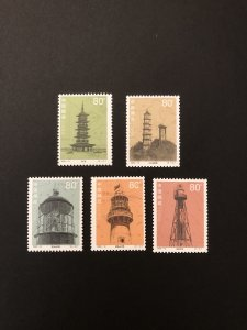 China stamps 2002-10, Scott # 3199-3203 Historical Relics Set of 5 MNH