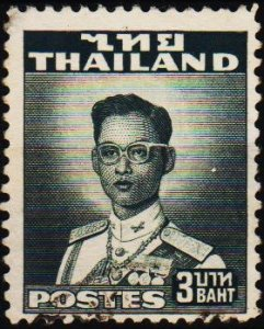 Thailand. 1951 3b S.G.346 Fine Used
