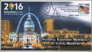 2016, NPS Centennial, St Louis MO, National Expansion Memorial, Pict, 16-128