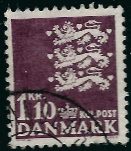 Denmark #395 F-VF Used...Fill out your Denmark spaces!
