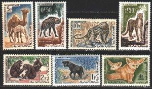 Mauritania. 1969. 204-9 from the series. African fauna, hyena. MNH.