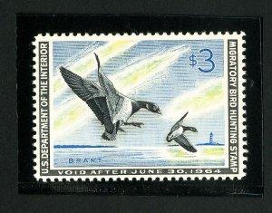 US Stamps # RW30 Superb OG NH