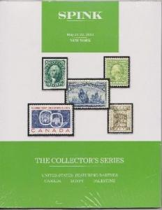 Spink Nay 2014 Collector's Series Stamp Auction Catalogue - NEW