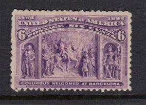 United States SC# 235 Mint Hinged