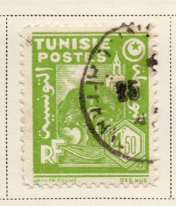 Tunisia 1943-45 Early Issue Fine Used 4F.50c. 144883