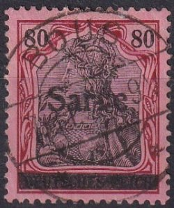 Saar #16 F-VF Used CV $275.00 (Z1241)