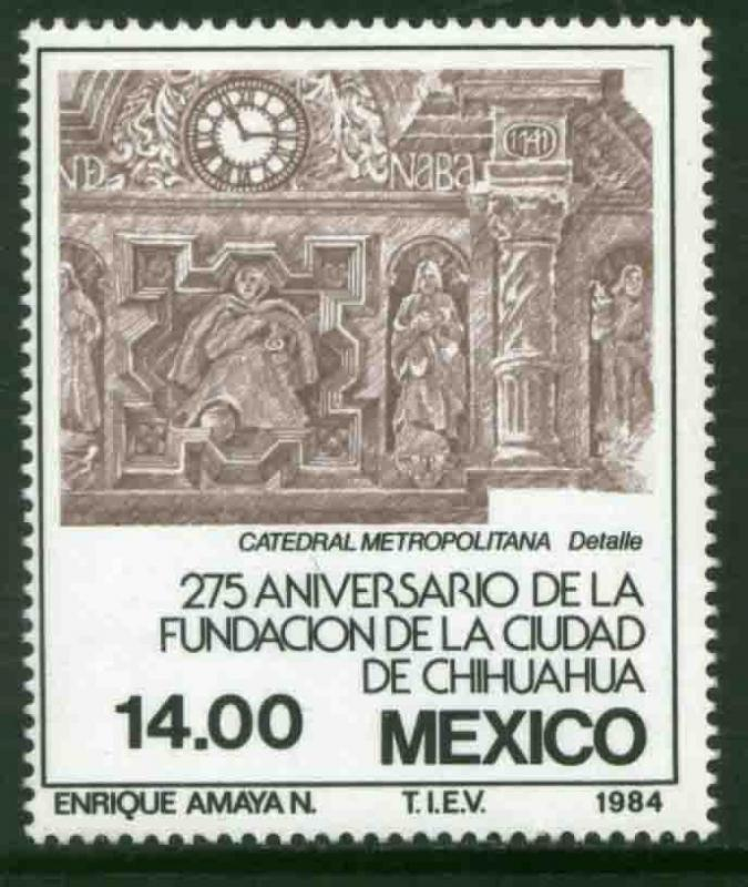 MEXICO 1365 275th Anniversary of Chihuahua City MNH