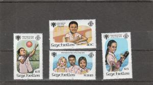 Seychelles  Scott#  438-41  MNH  (1979 IYC)