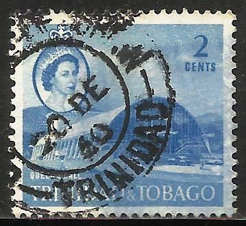 Trinidad & Tobago 1960 Scott# 90 Used