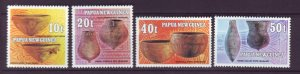J21913 Jlstamps 1982 png set mnh #558-561 pottery
