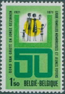 Belgium 1971 SG2239 1f.50 Large Families MNH