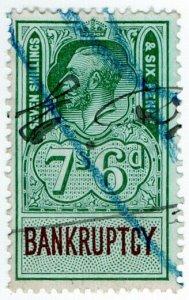 (I.B) George V Revenue : Bankruptcy 7/6d