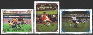 North Korea. 1985. 2648-51 from the series. Football. MNH.