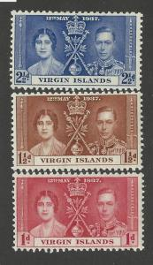 BRITISH VIRGIN ISLAND #  73 - 5  MLH