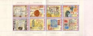 Norway Sc 1112a 1995 Postal Anniversary stamp booklet mint NH