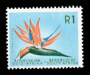 South Africa 1963 QEII 1R Flower wmk RSA SG 236 MNH CV £48