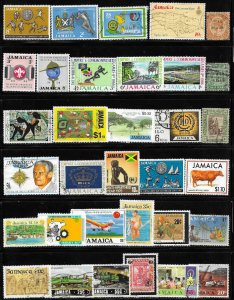 12332  Norway 33 diff. stamps - good starter collection