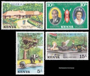 Kenya Scott 84-87 Mint never hinged.