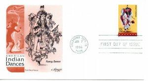 US FDC #3072 Indian Dances, Artmaster (5865)