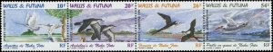 Wallis & Futuna Islands 1999 Sc C212 Birds Egret Frigate Strawtail CV $3.25