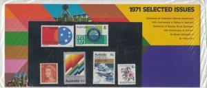Australia 1971 QEII Selected Issues Presentation Pack Unopened