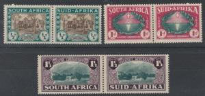 SOUTH AFRICA 1939 HUGENOT SET PAIRS