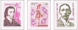 Monaco VF-NH #1346-1348