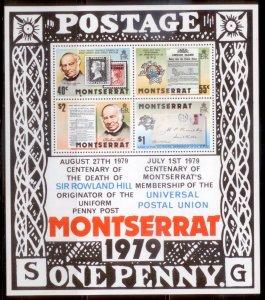 Montserrat 1979  SC# 406-9a S/S MNH L189