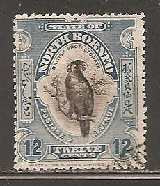 North Borneo  SC  145c  Used